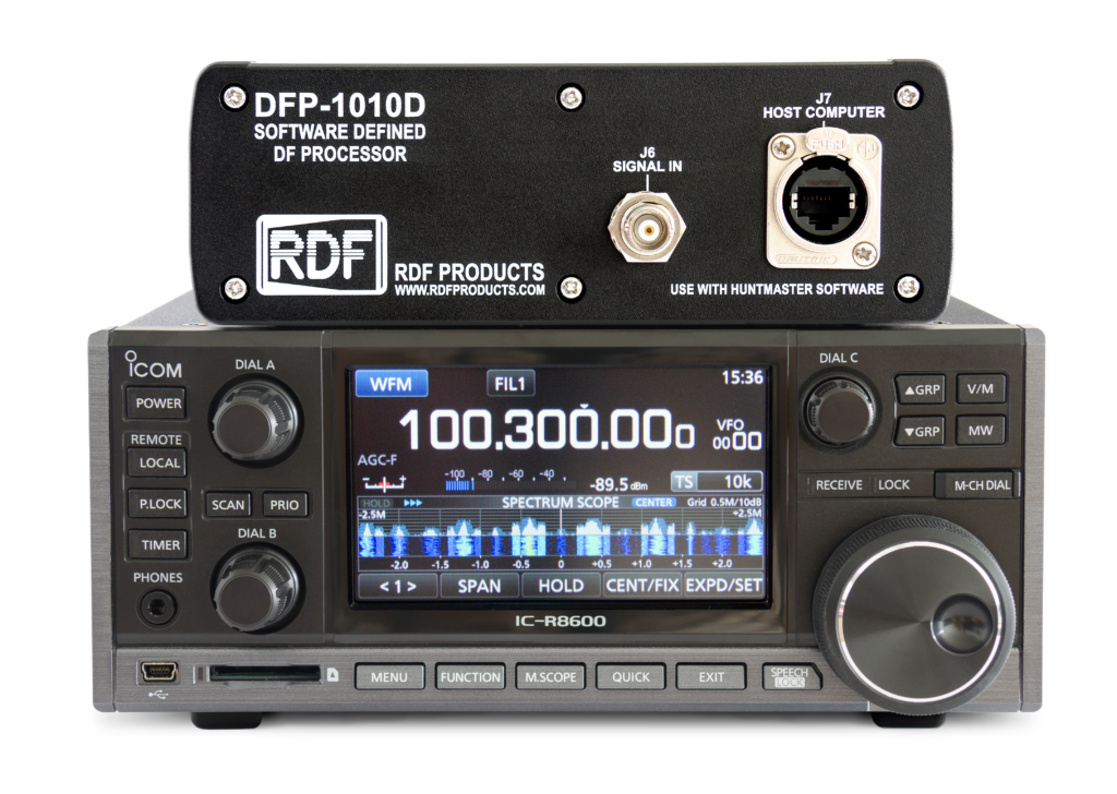 DFR-8600D Wideband Radio Direction Finding Receiver